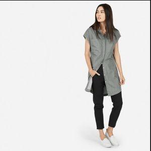 Everlane Grey Shirtdress